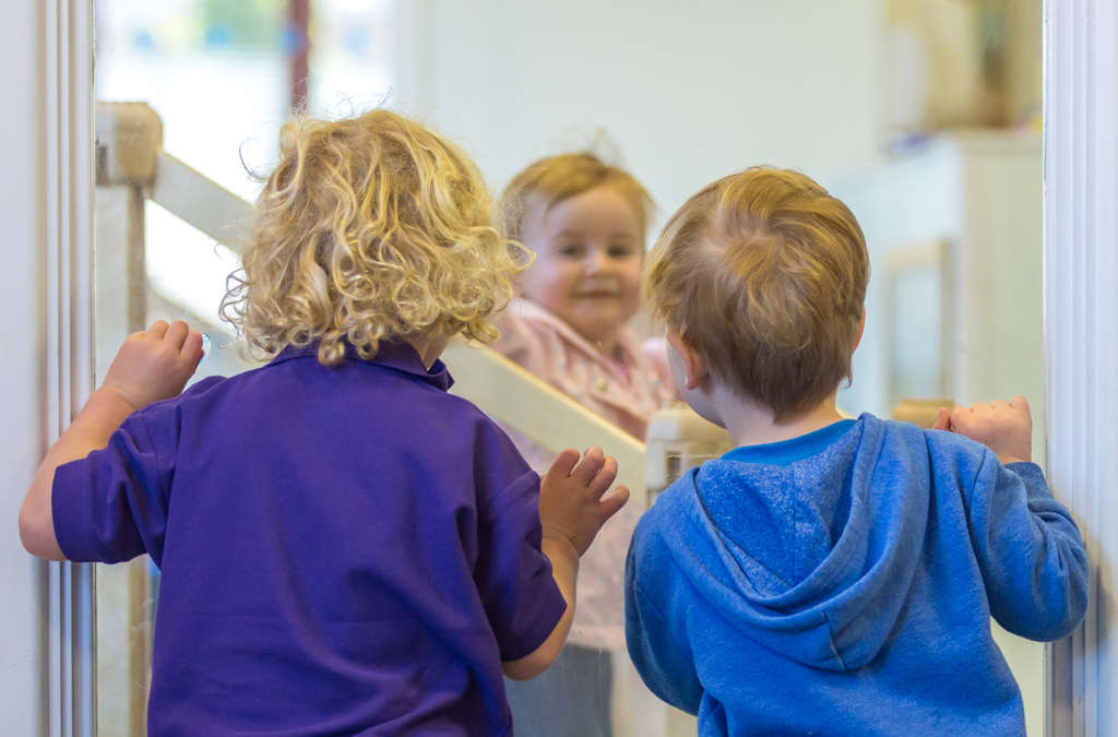 Children playing at Happy Days Nursery & Pre-school Exeter