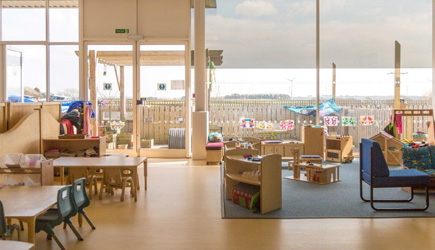 Summercourt Cornwall Happy Days Nursery childcare preschool