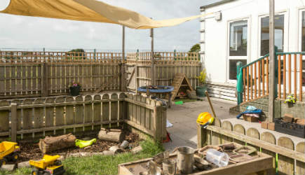 Newquay Treloggan Cornwall Happy Days Nursery childcare preschool